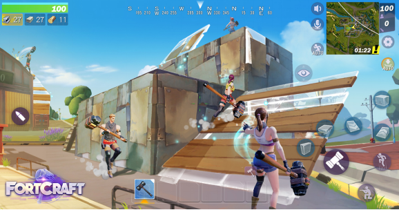 'FortCraft' is NetEase's Shameless 'Fortnite' Ripoff Now Available for Beta Testing
