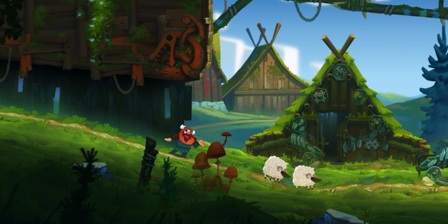 'Oddmar' Is a Beautiful Cartoon Viking Platformer From the Developers of 'Leo's Fortune', Releasing This Spring