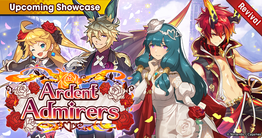 Ardent Admirers summon showcase units