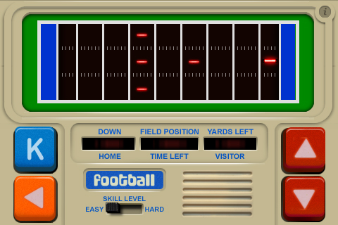 1978 Led Football Game Coming Soon To Iphone Toucharcade