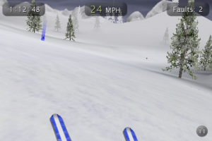 touch ski 3d screen