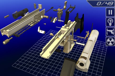disassembly 3d controls