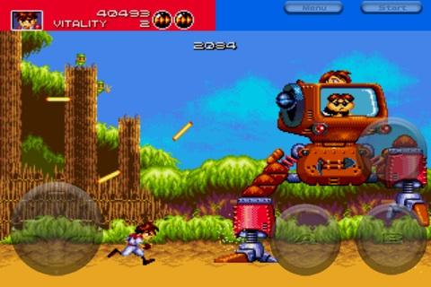 Treasure's Classic Sega Genesis Title 'Gunstar Heroes' Now
