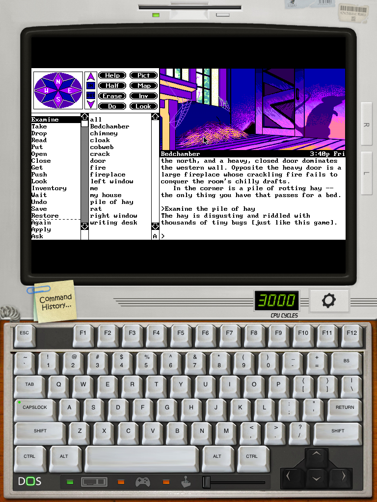 iDOS' – A Full Featured Universal DOS Emulator That Somehow