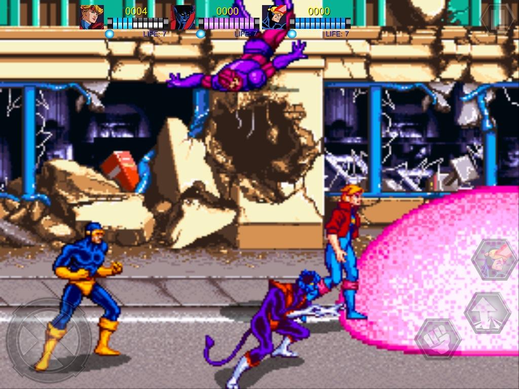 classic arcade game x men hitting the app store tonight toucharcade