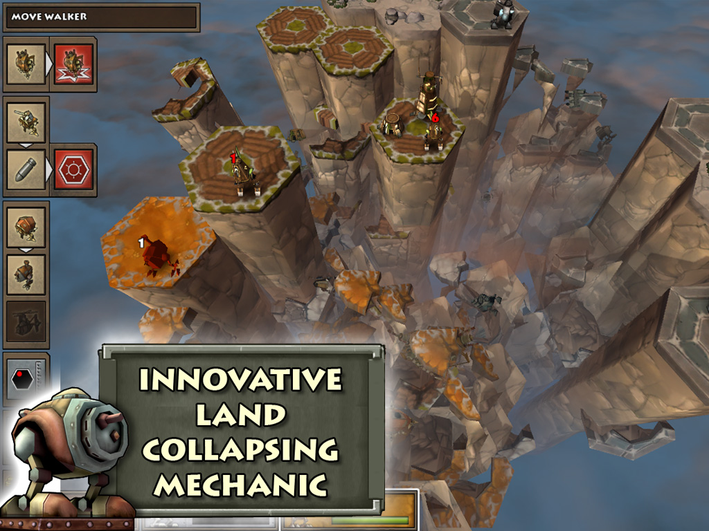 Greed Corp HD' for iPad Review – Scorched Earth is