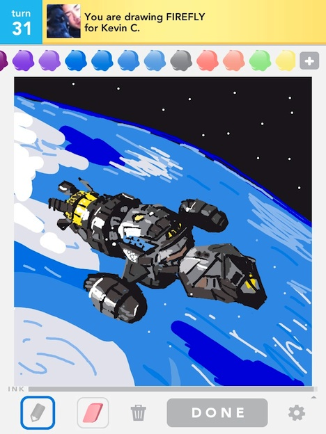 Check Out These Crazy 'Draw Something' Drawings – TouchArcade |Hangover Draw Something Drawing