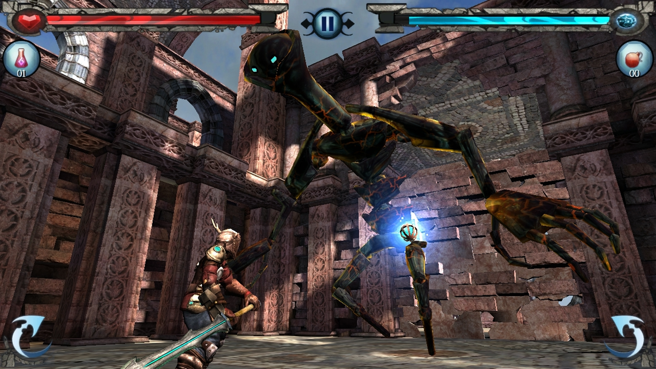 Hands-On With 'Horn' – 'Infinity Blade' Hops the Rails – TouchArcade