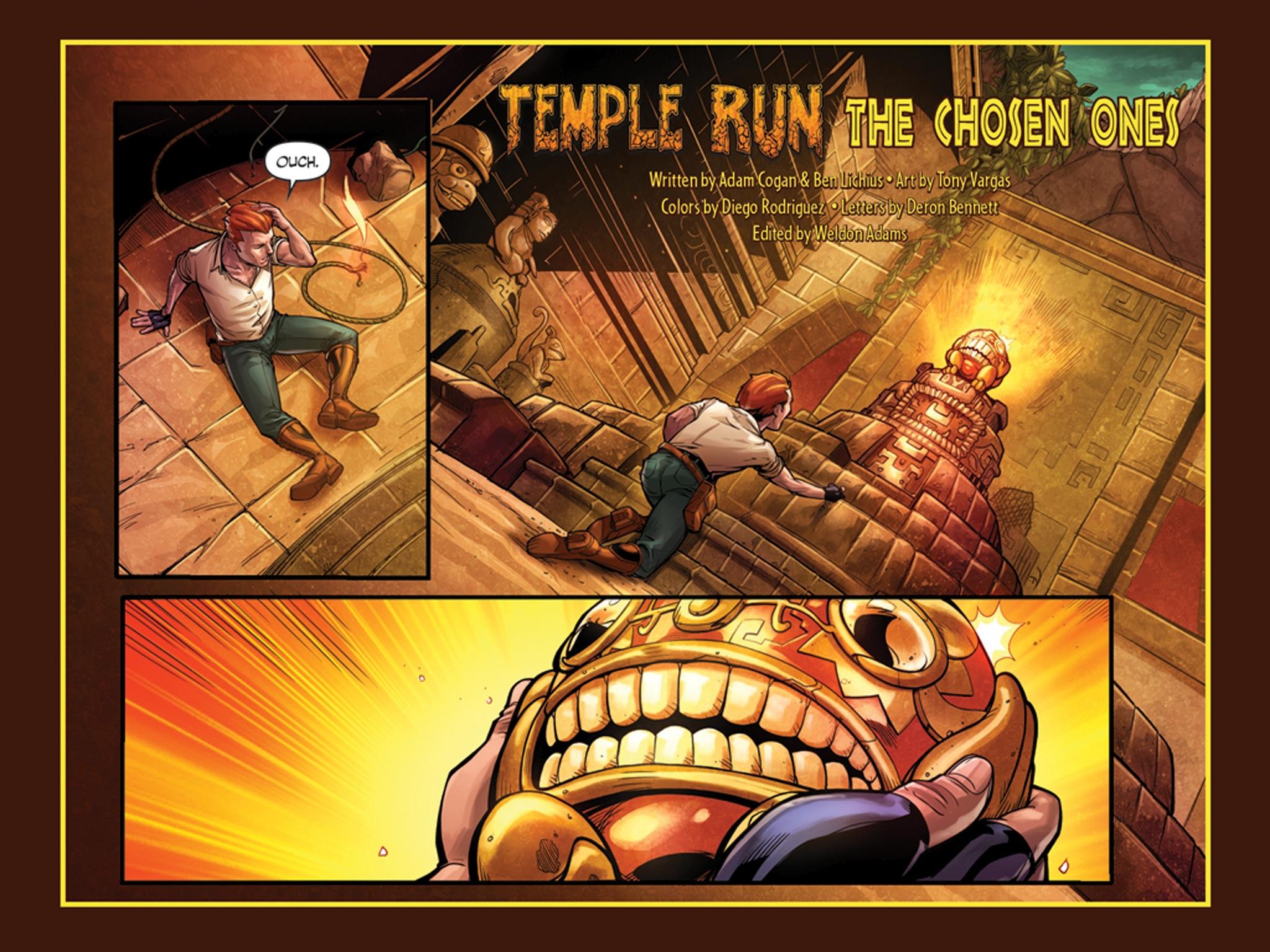 Temple Run Comics' Offers a Digital Look Into the Adventures