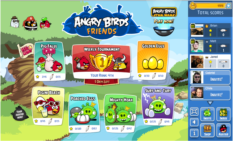 Angry Birds Friends' Making the Leap from Facebook to Mobile
