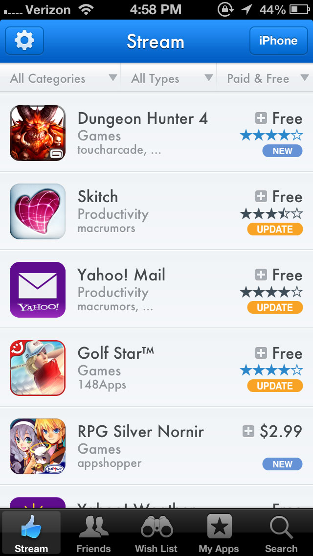 Introducing 'AppShopper Social' a Brand New AppShopper App With a