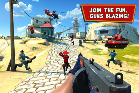 blitz brigade review gameloft takes on team fortress 2