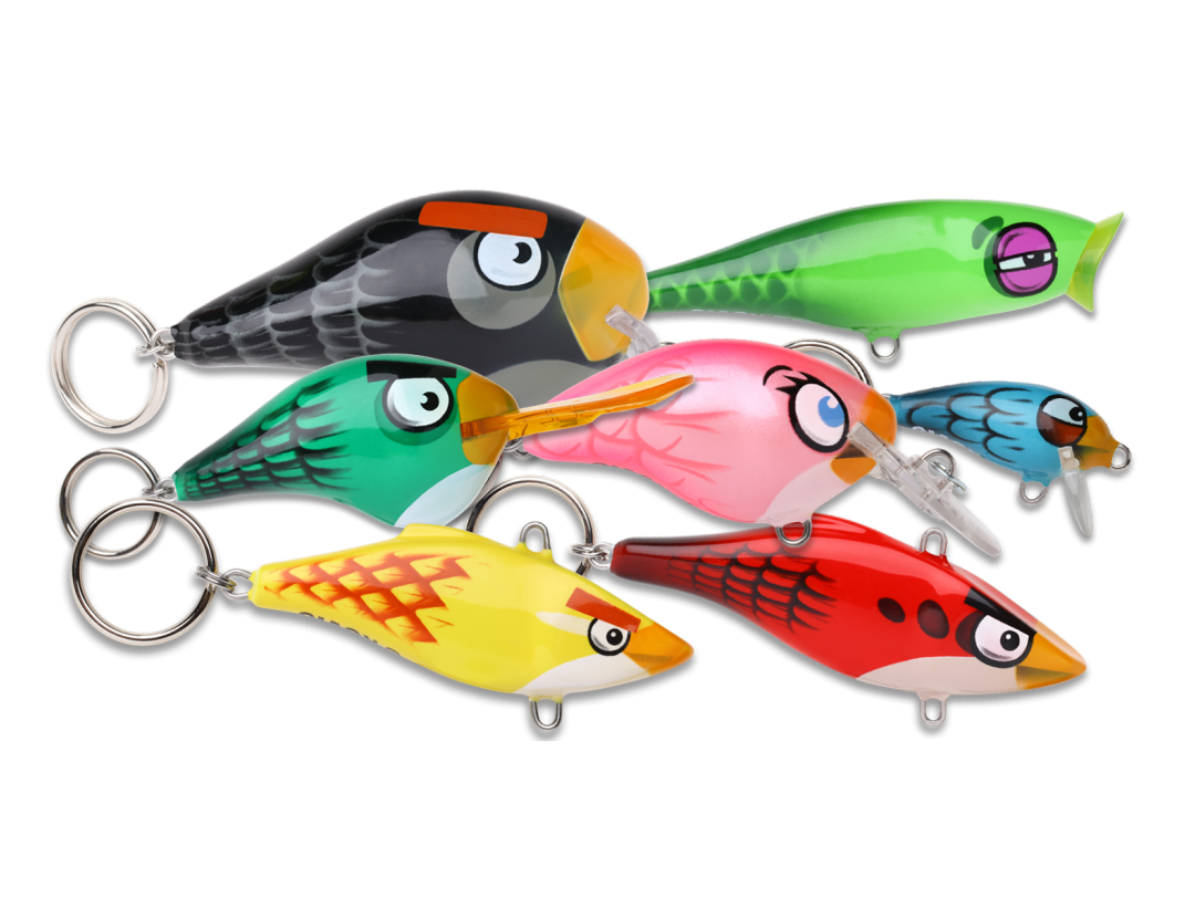 Rapala Releases Line of 'Angry Birds' Fishing Gear, Because, Why Not