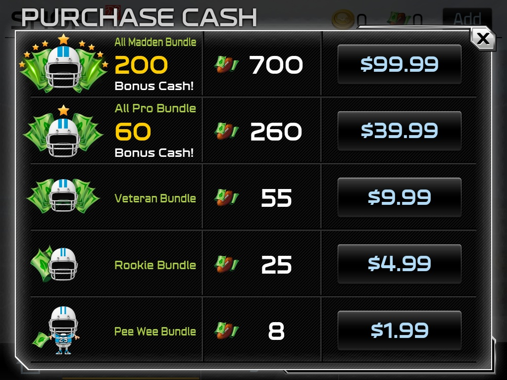Madden Mobile Christmas Promo.Madden Nfl 25 Guide How To Spend As Little Real Money As