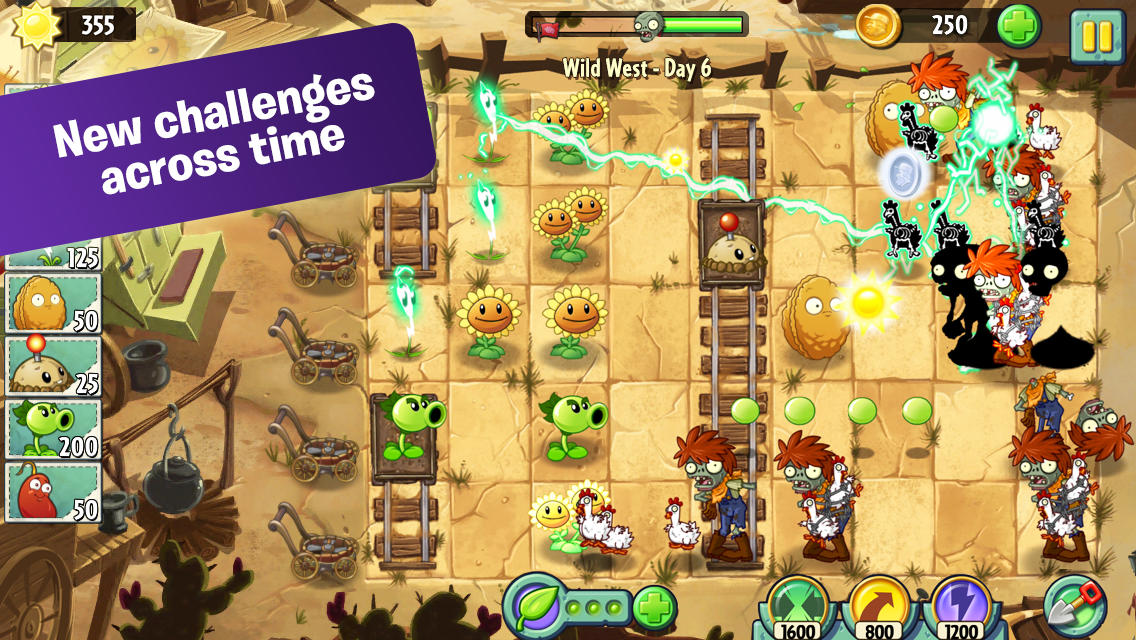 game plant vs zombies 2 download