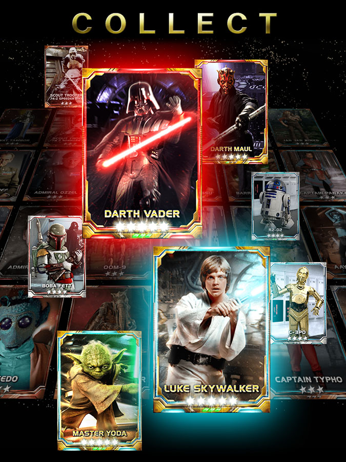 Star Wars™: FORCE COLLECTION | Konami Product Information