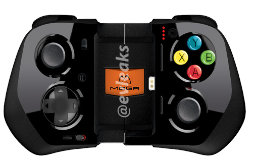 MOGA Ace Power iOS 7 Game Controller With Analog Sticks and