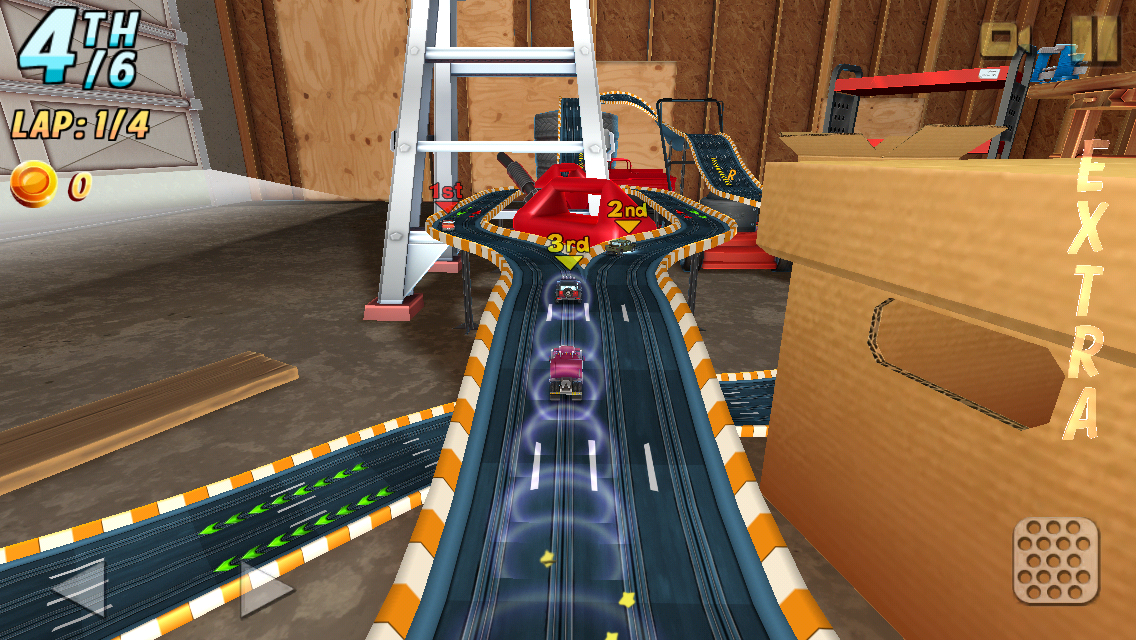 Rail racing review toy car racing with a vintage feel toucharcade - Times table racing car game ...