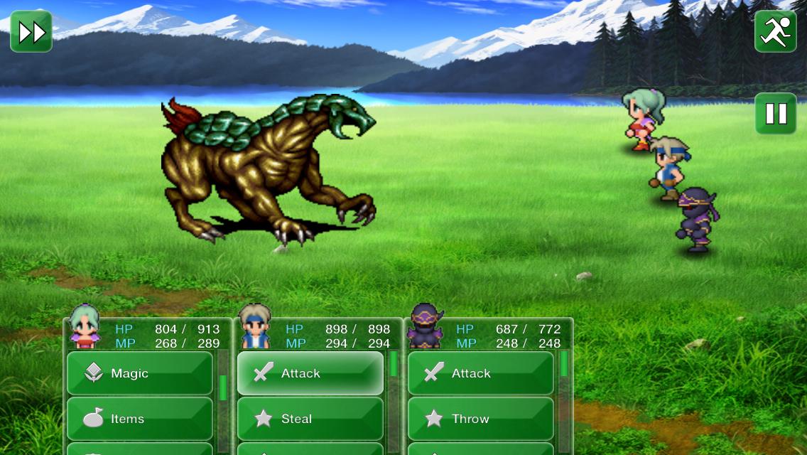 'Final Fantasy VI' Review – Pure Magic(ite) – TouchArcade