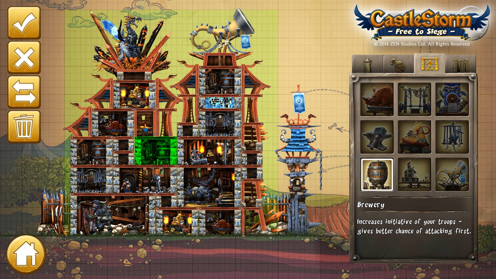 CastleStorm' from Zen Studios is Heading to Mobile as a New