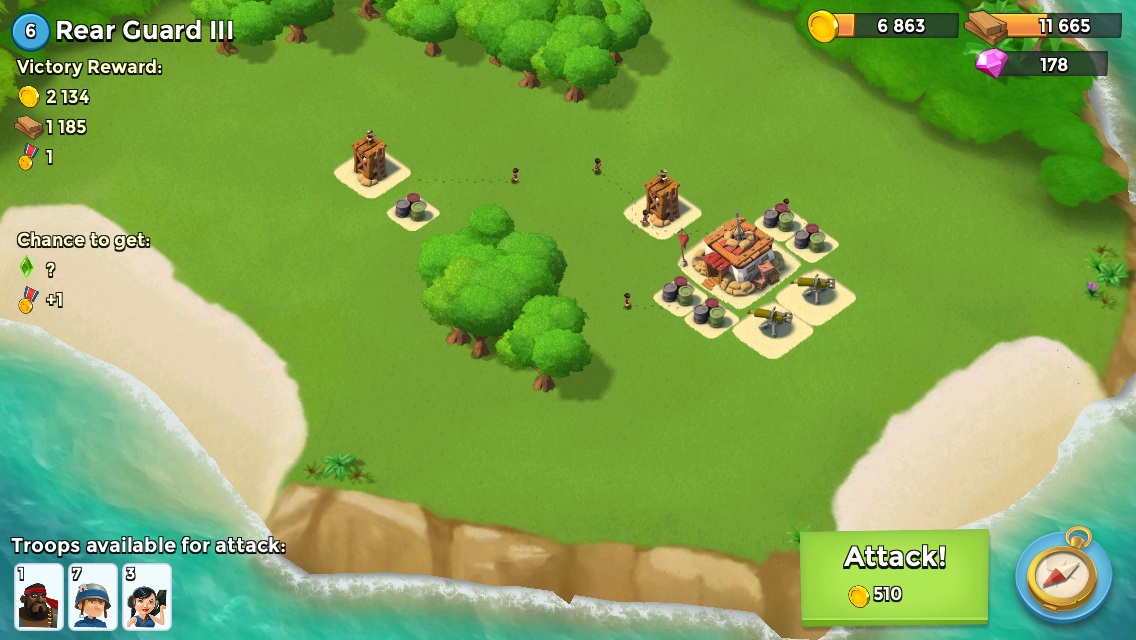 Of Course As Friendly And Interesting Boom Beach Is It S Important To Note That Still A Freemium At Its Heart The Building Recruiting