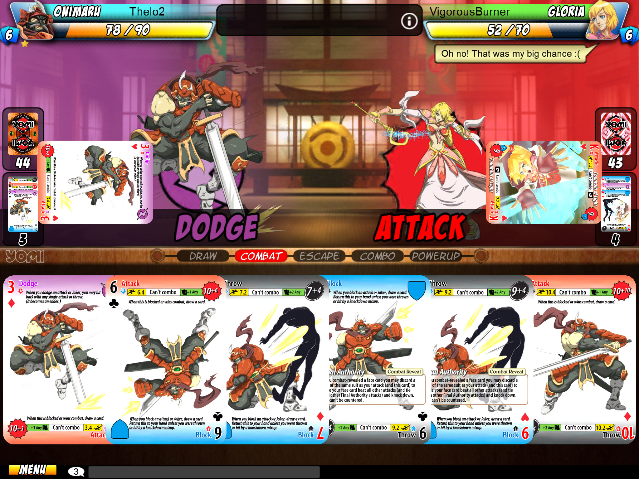 'Street Fighter' Dev Releasing Card-Battler 'Yomi' on iPad Next Week