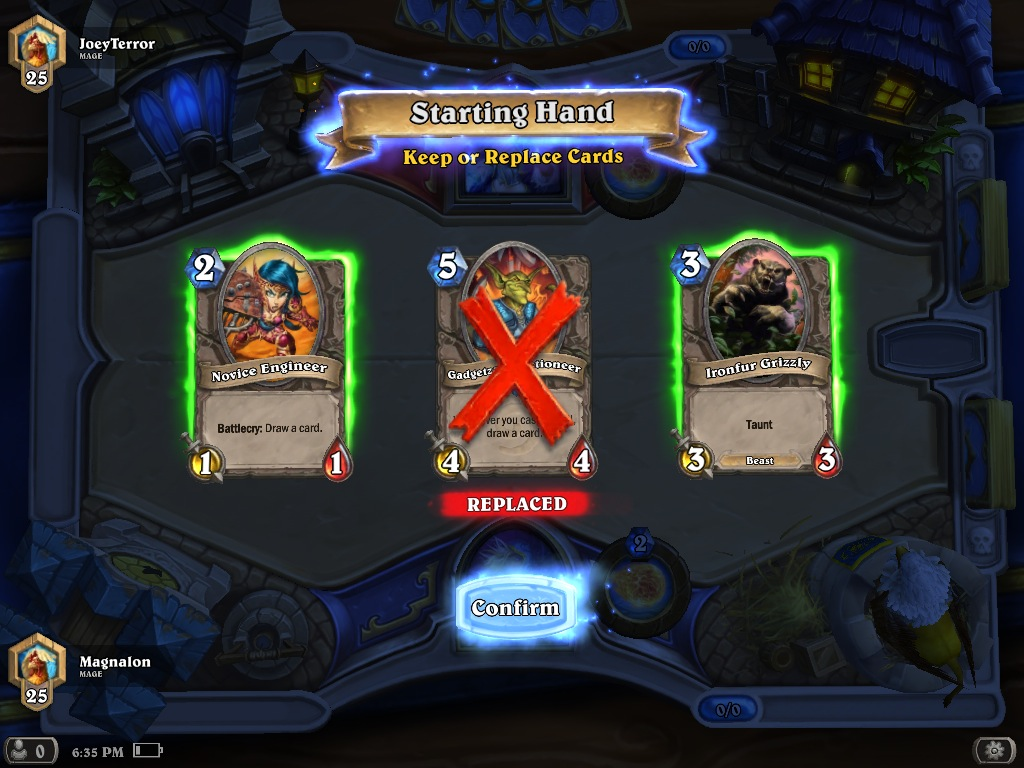 Hearthstone: Heroes of Warcraft' for iPad Review – Shuffling