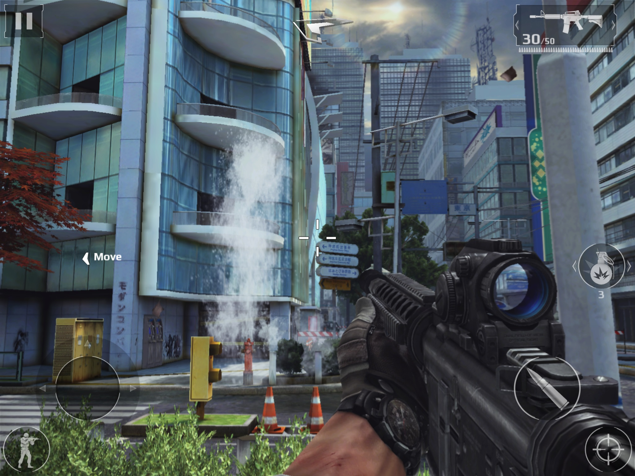 Modern Combat 5 Blackout Single Player Review Blurring The