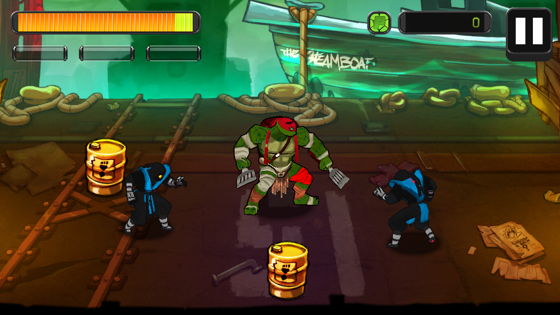 Teenage Mutant Ninja Turtles Review The Game Bakers Make Fine Turtle Soup Toucharcade