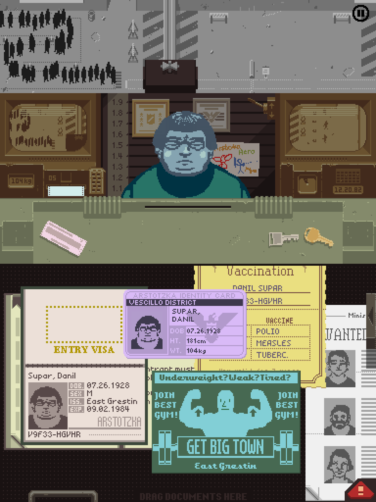 download papers please ios free