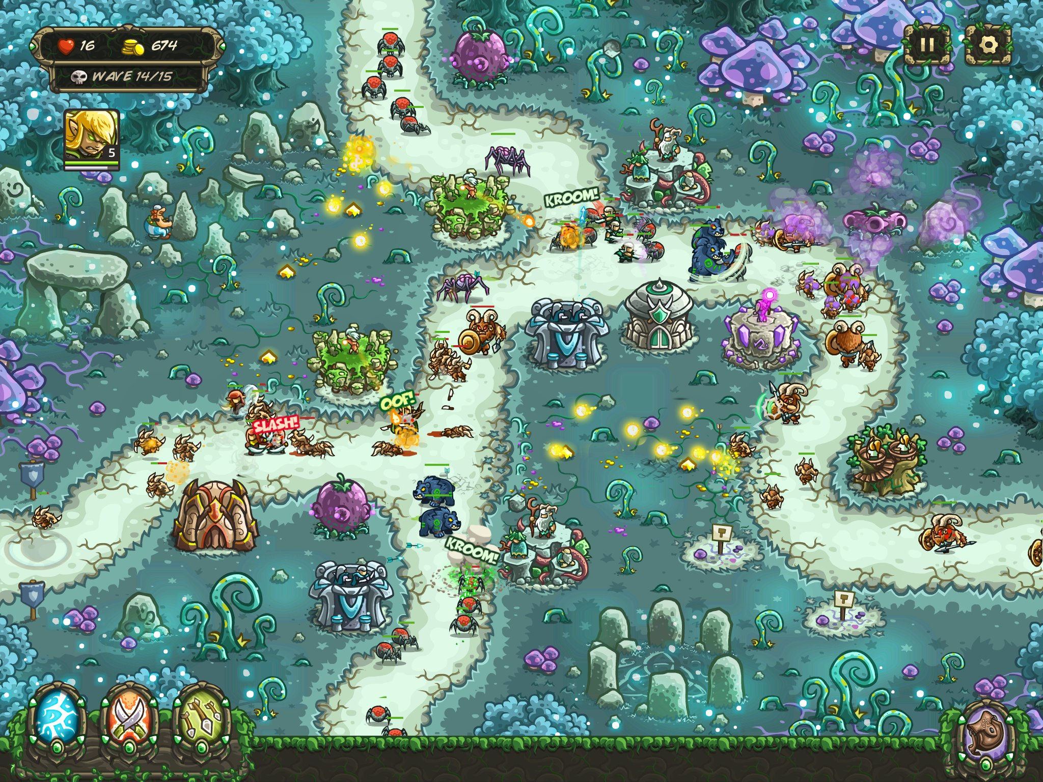 Kingdom Rush Lösung