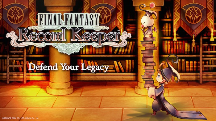 FINAL FANTASY Record Keeper - Key Art