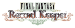 FINAL FANTASY Record Keeper - Logo