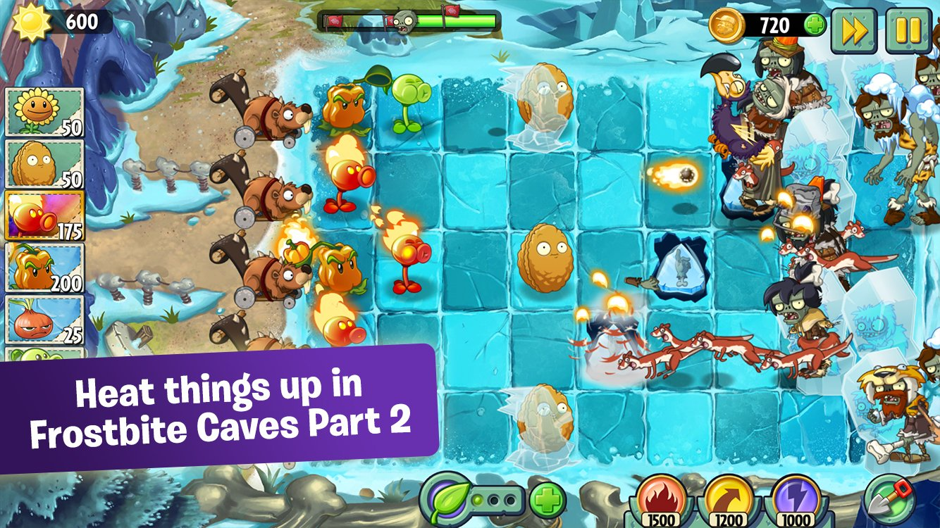 popcap plants vs zombies 2 pc