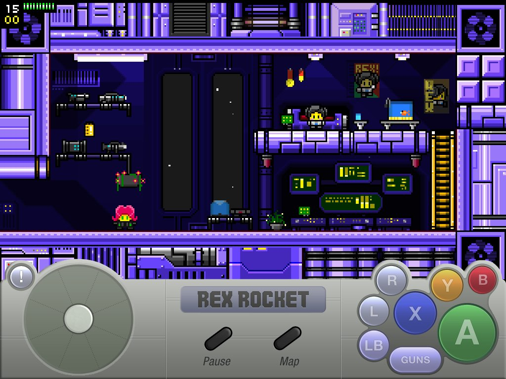 Rex Rocket iPad