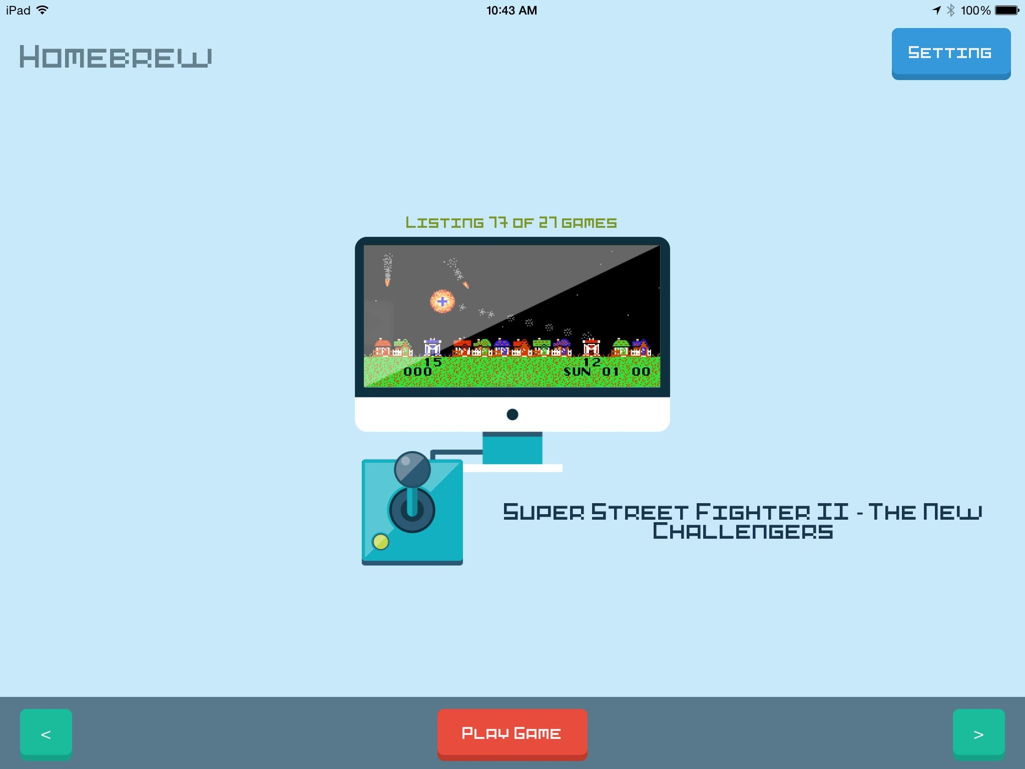 Homebrew Indie Games' is a Secret Emulator on the App Store