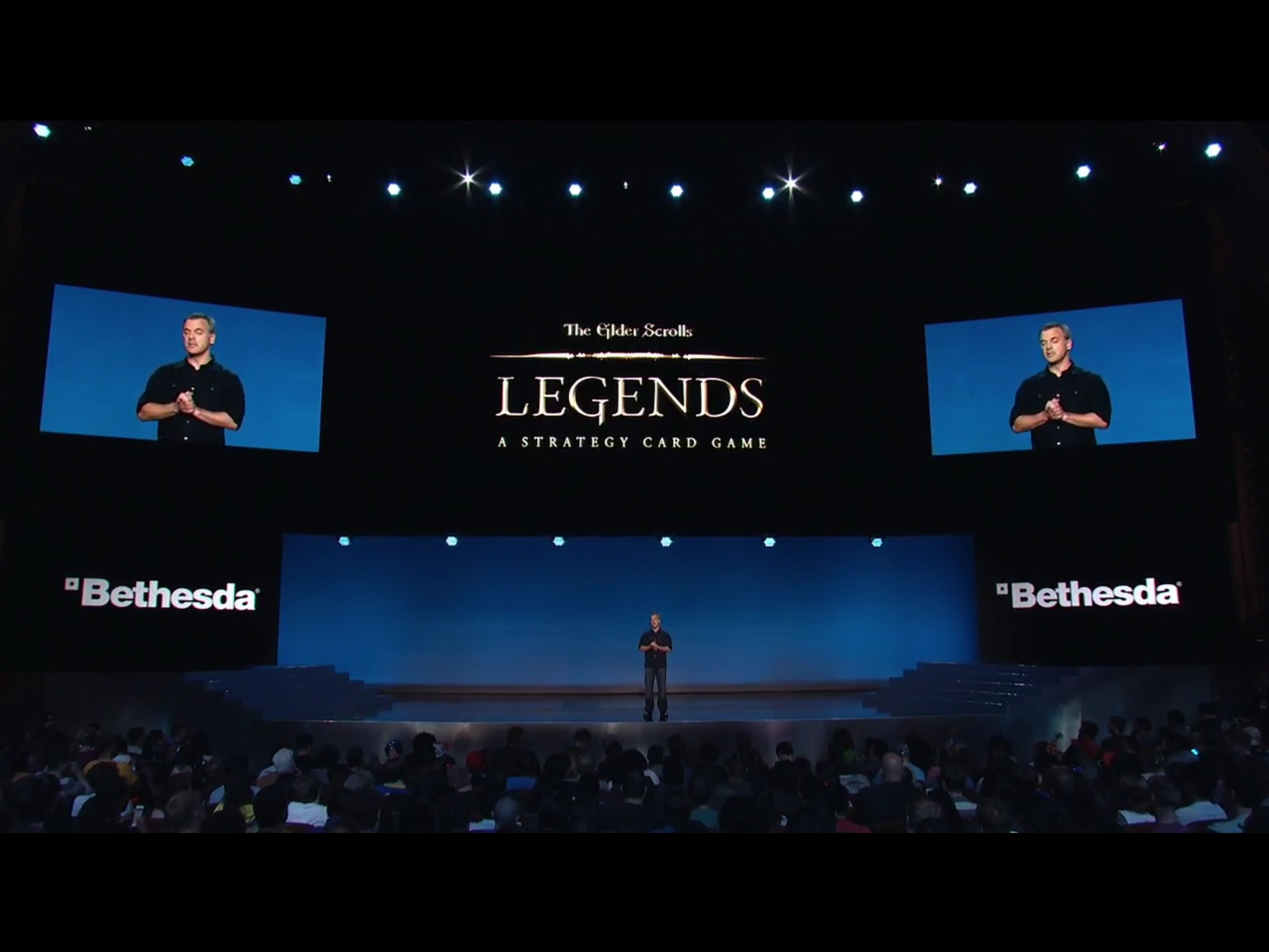 Bethesda Announces 'The Elder Scrolls Legends' Competitive Card Game at their Pre-E3 Media Event