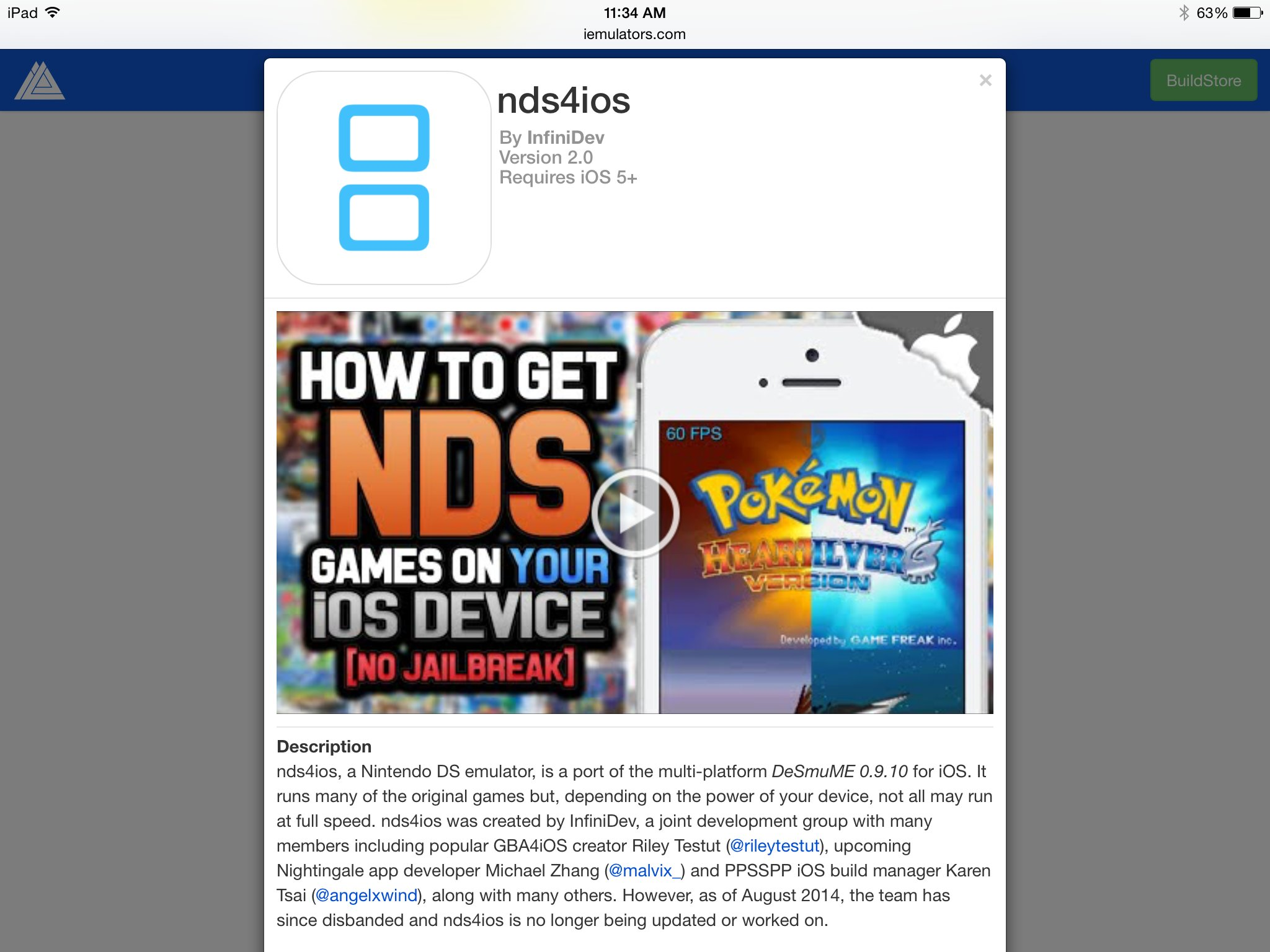 You Can Install Nintendo DS Emulator 'nds4ios' Right Now
