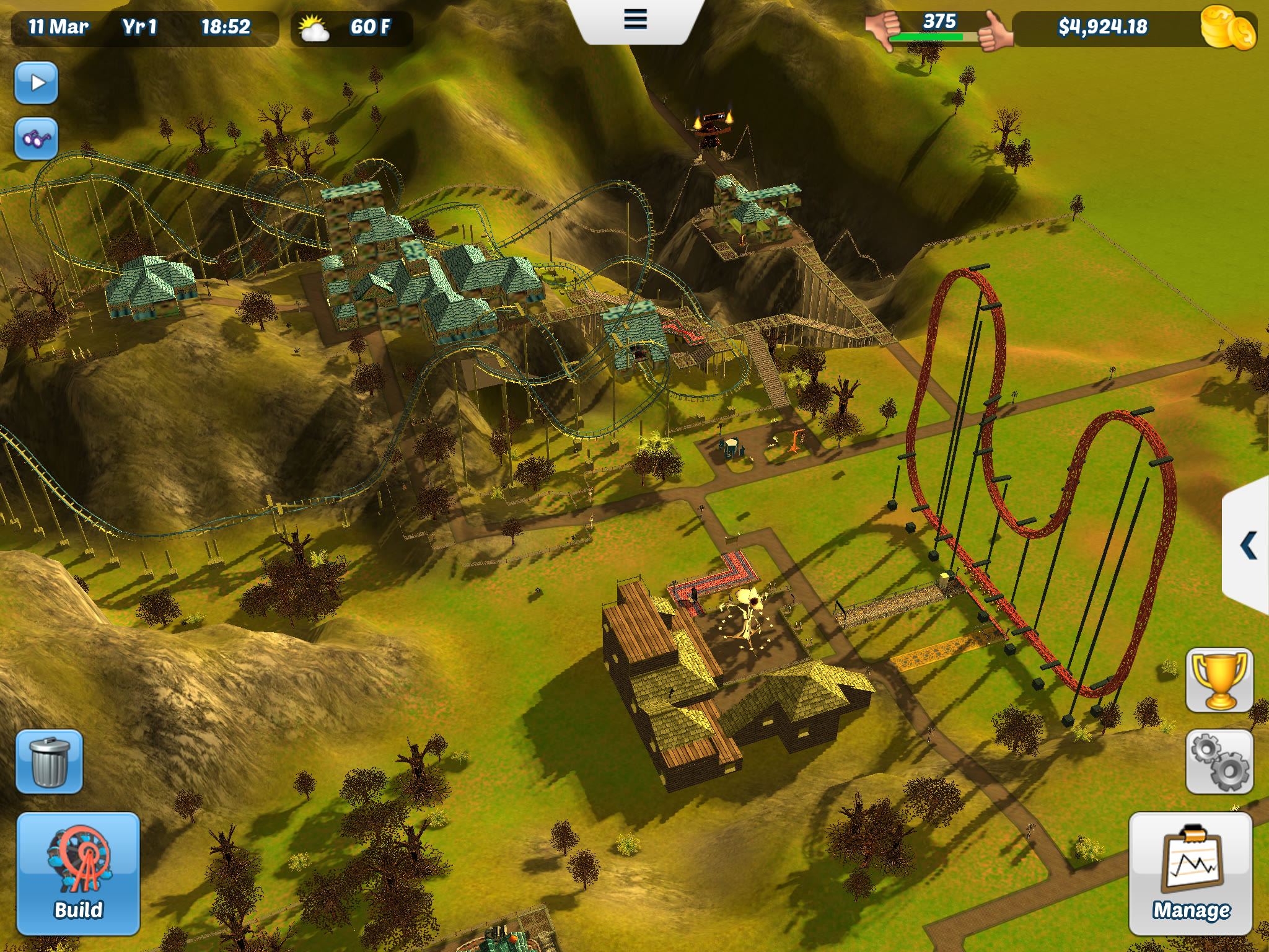 RollerCoaster Tycoon 3' Review – Life is a Fun