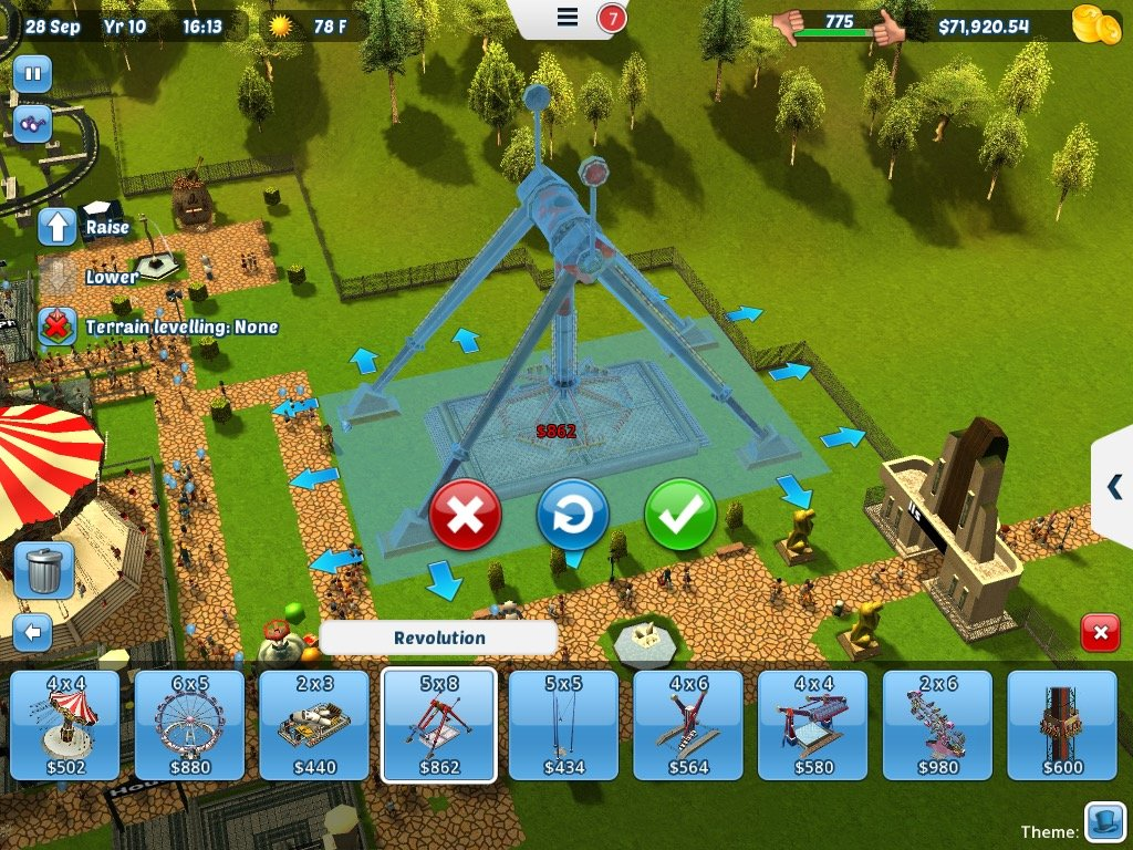 TouchArcade Game of the Week: 'RollerCoaster Tycoon 3