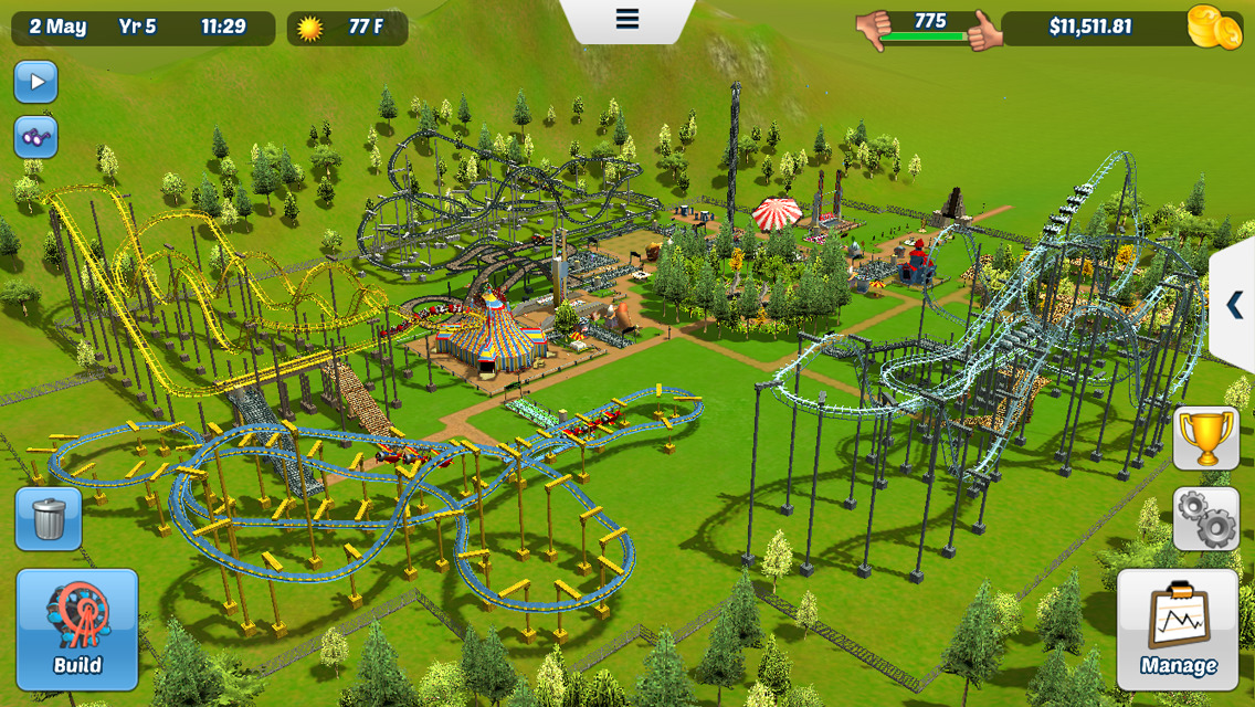 Roller coaster tycoon 3 android apk | RollerCoaster Tycoon Touch for
