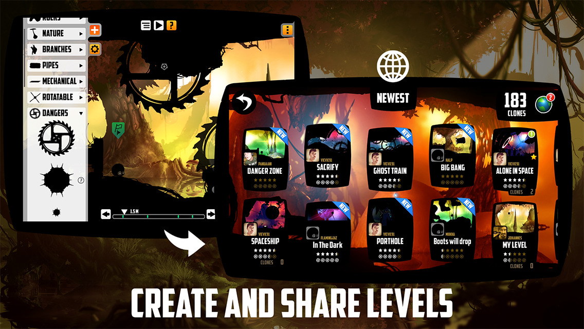 The 'Badland' Level Editor Update is Now Available – TouchArcade