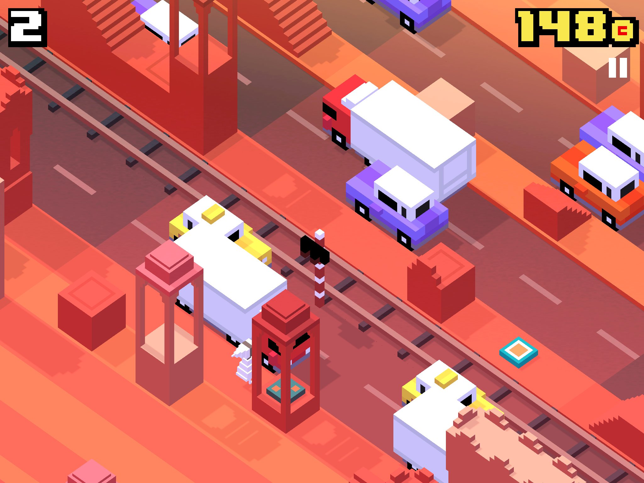 Crossy Road Monument Valley
