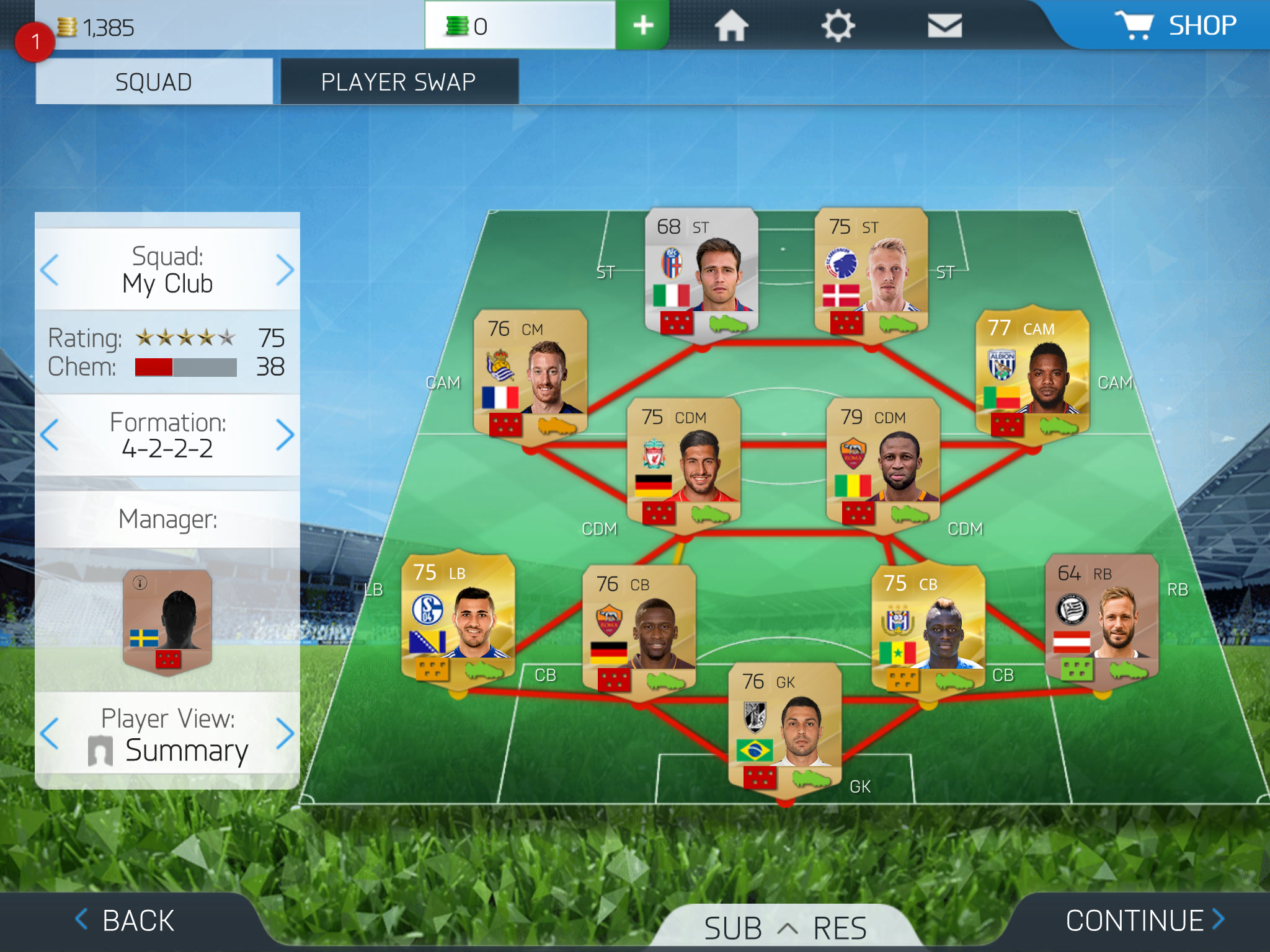 fifa 16 ultimate team app