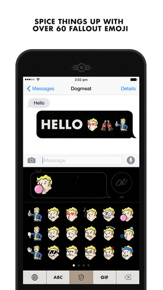 There's a 'Fallout' iOS Keyboard App Because YOLO – TouchArcade