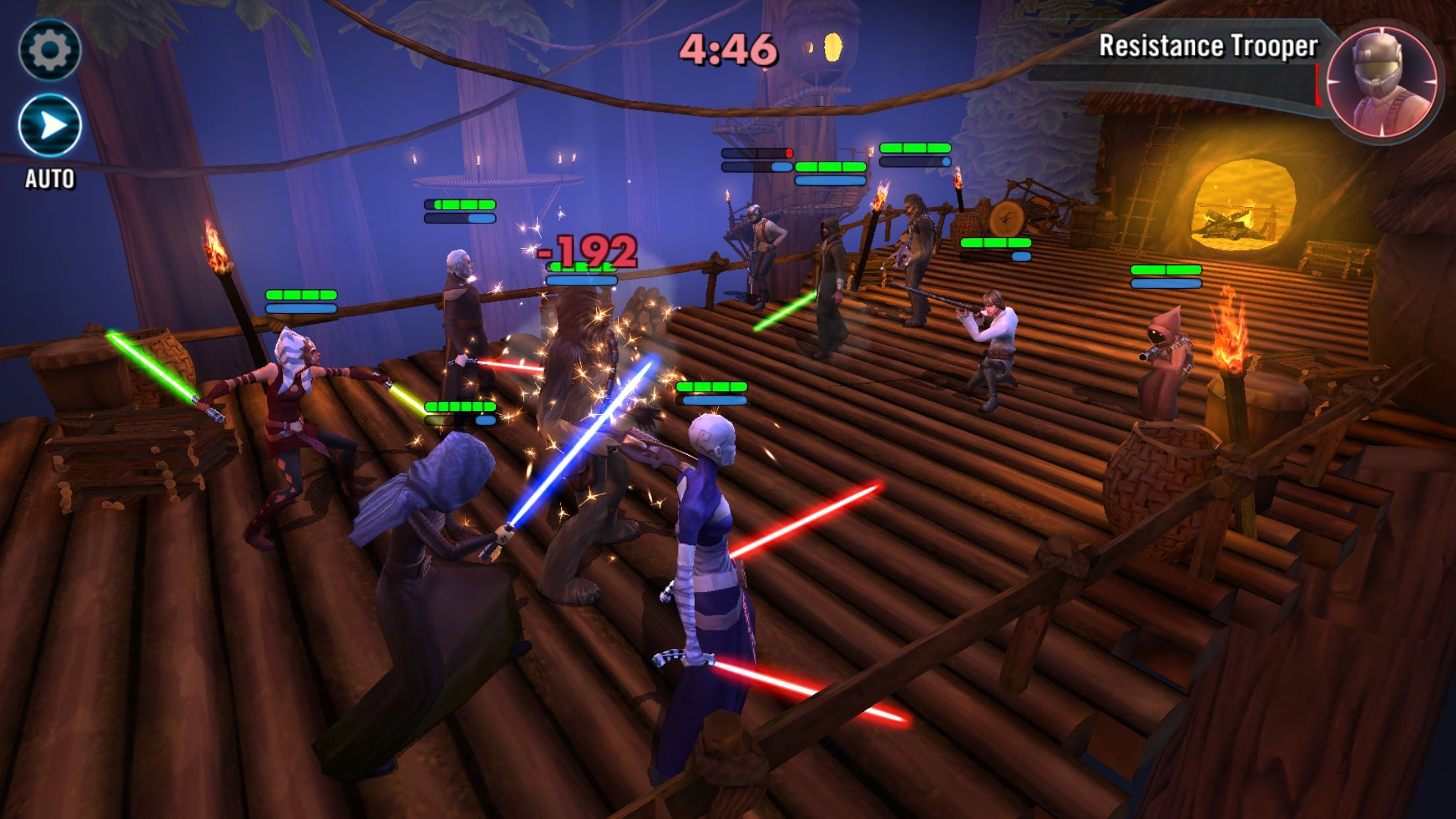 Star Wars Galaxy of Heroes apk android, pc et ios