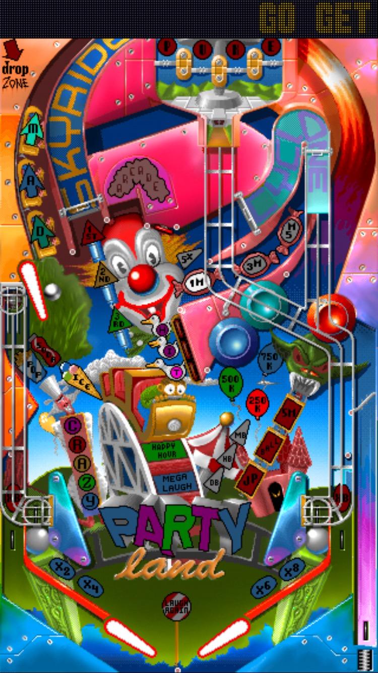 Classic Amiga Pinball Games 'Pinball Dreams' and 'Pinball
