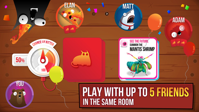 Exploding Kittens' has Just Hit the App Store, But Only
