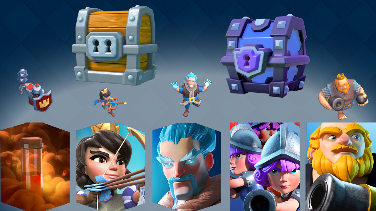 Details on Upcoming Clash Royale Update Leak: New