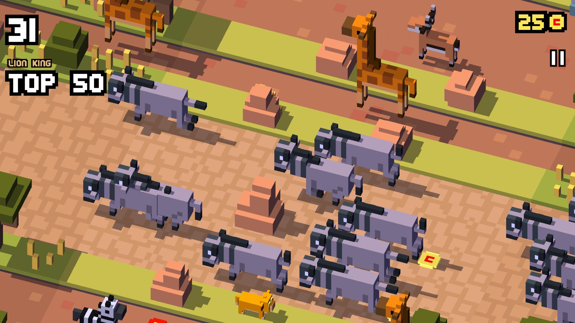 Disney Crossy Road - Lion King